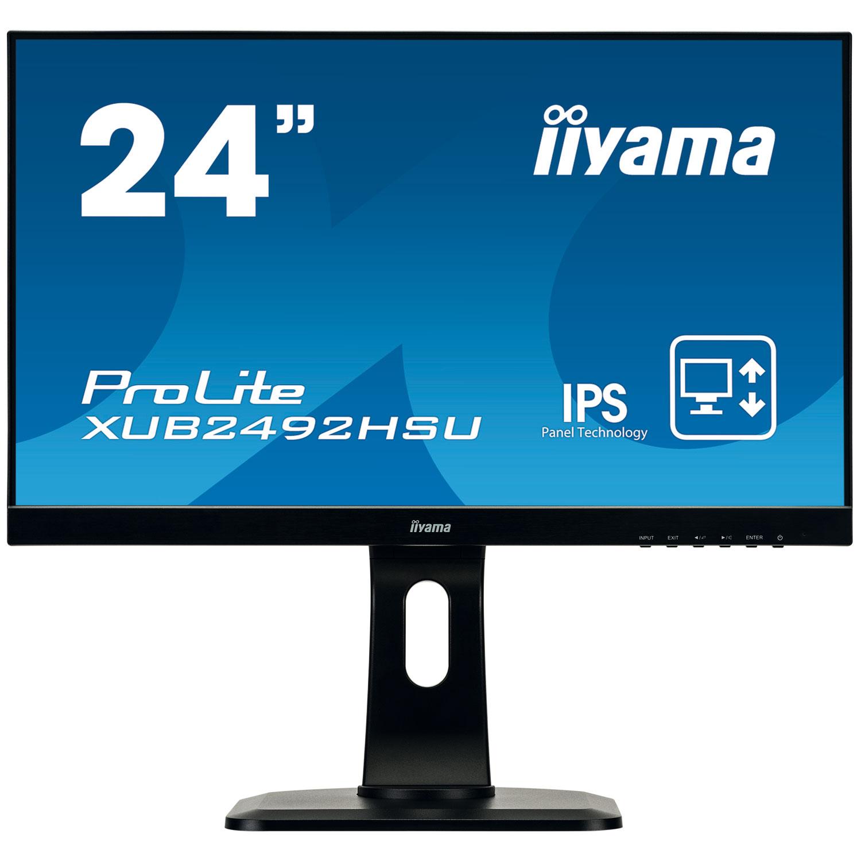 """Iiyama 24""""  XUB2492HSU-B1 - Ecran PC Iiyama - Cybertek.fr - 0"""