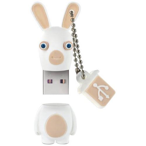 Integral 8Go USB 2.0 Lapins Crétins - Clé USB Integral - 0