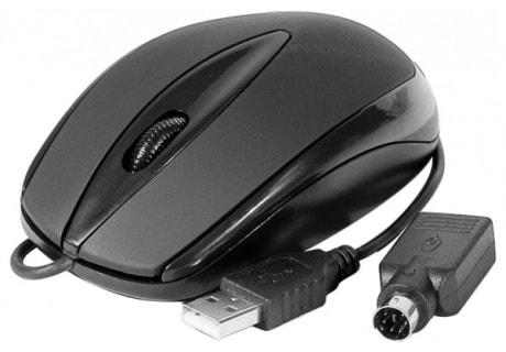 No Name Optique PS2 noire (225113) - Achat / Vente Souris PC sur Cybertek.fr - 0