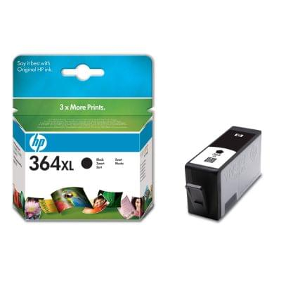 HP Cartouche n°364 XL Noir (CN684EE) - Achat / Vente Consommable Imprimante sur Cybertek.fr - 0