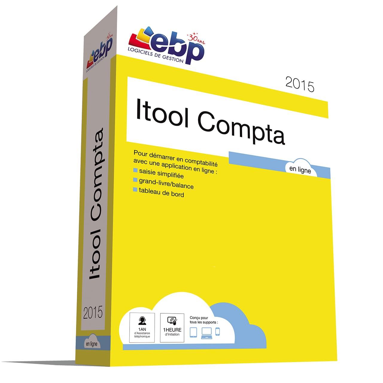 EBP Itool Compta En Ligne 2015 (9072A000FAG) - Achat / Vente Logiciel application sur Cybertek.fr - 0