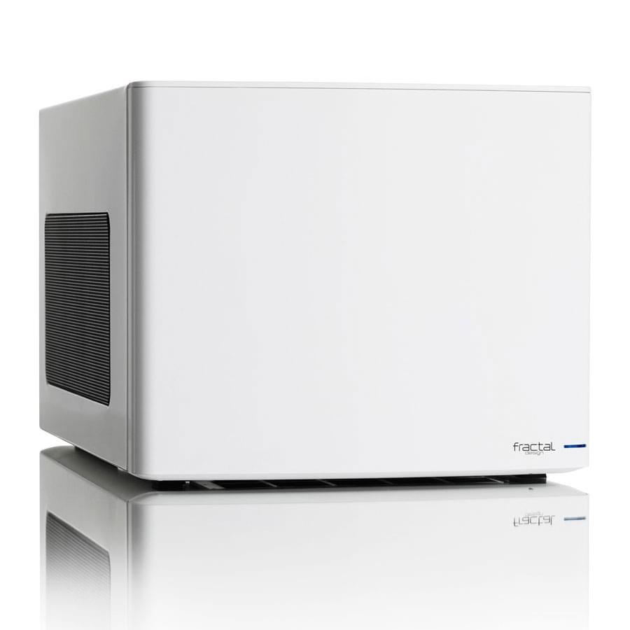 Fractal Design mT/Sans Alim/ITX Blanc - Boîtier PC Fractal Design - 0