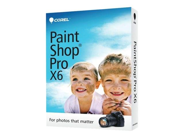 Corel PaintShop Pro X6 - Logiciel application - Cybertek.fr - 0