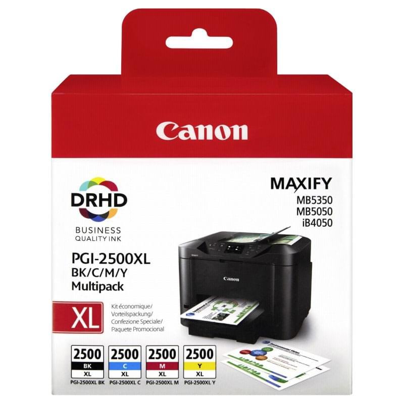 Canon Pack 4 Cartouches BK,C,M,Y PGI-2500XL (9254B004) - Achat / Vente Consommable Imprimante sur Cybertek.fr - 0