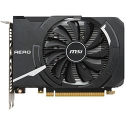 image produit MSI GTX 1050 Ti AERO ITX 4G OC - 1050Ti/4G/DVI/DP/HDMI Cybertek