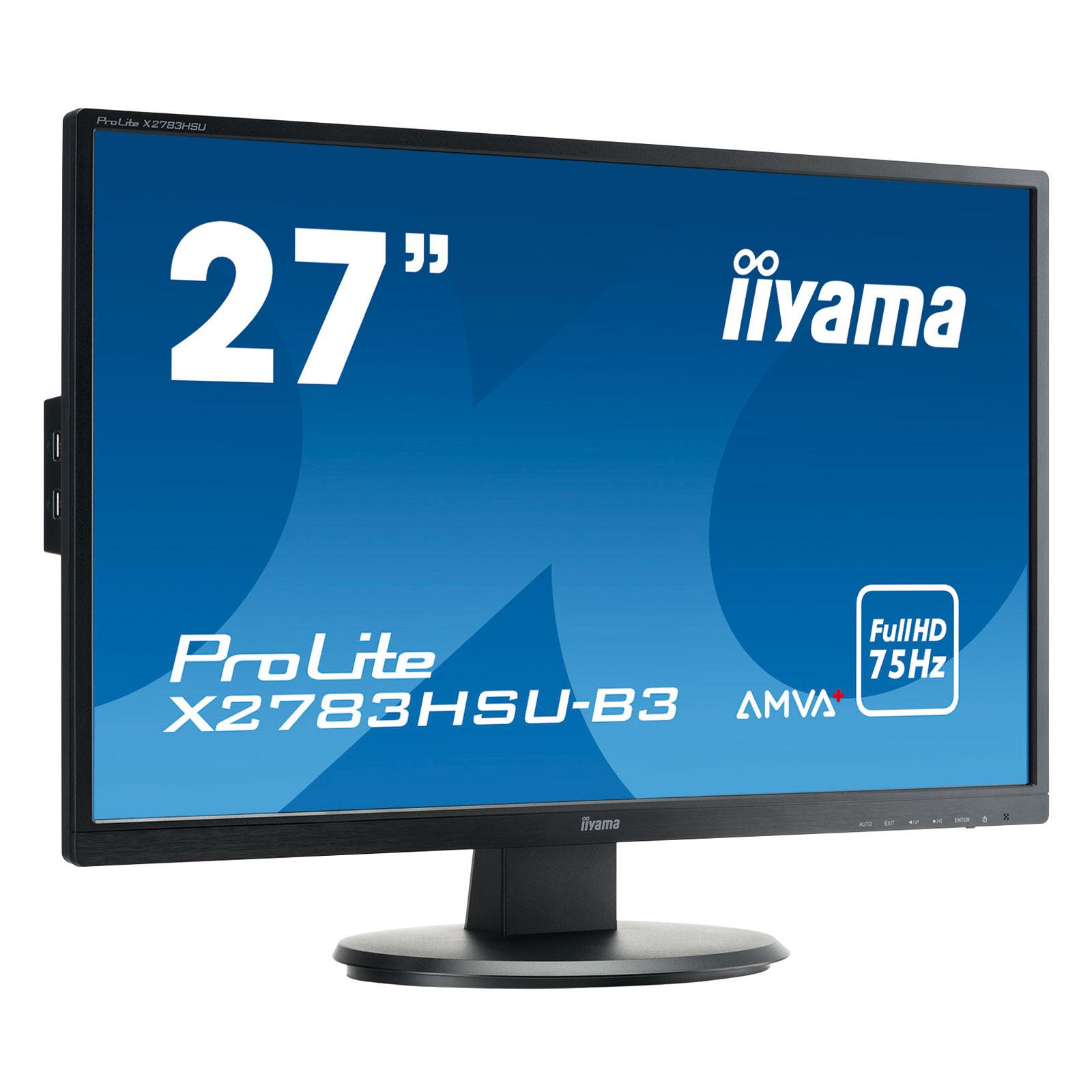 """Iiyama 27""""  X2783HSU-B3 - Ecran PC Iiyama - Cybertek.fr - 0"""