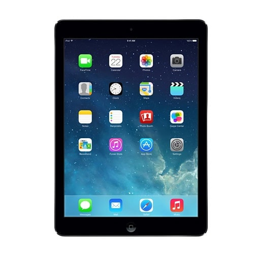 Apple iPad Air Wi-Fi 32Go Gris Sidéral (MD786NF/B) - Achat / Vente Tablette tactile sur Cybertek.fr - 0