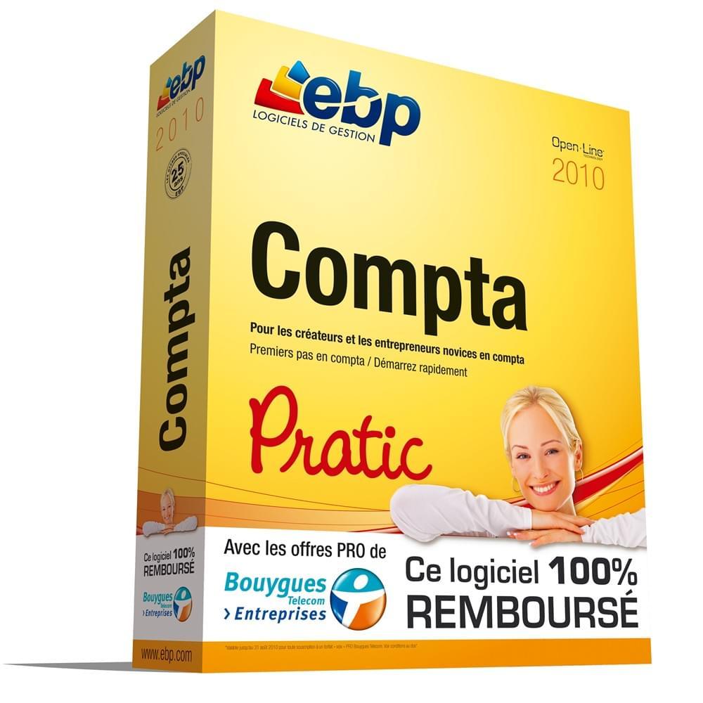 EBP Compta Pratic 2010 (1006E020FAD) - Achat / Vente Logiciel application sur Cybertek.fr - 0
