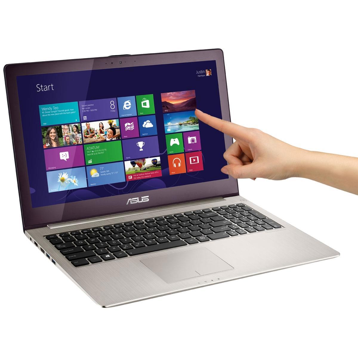Asus U500VZ-CM048H (U500VZ-CM048H) - Achat / Vente PC Portable sur Cybertek.fr - 0