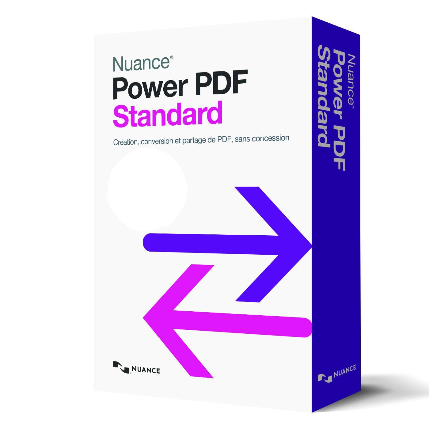 Nuance Power PDF standard - Logiciel application - Cybertek.fr - 0