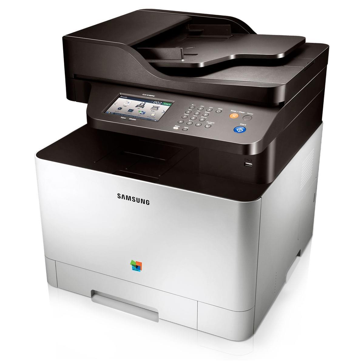 Samsung CLX-4195FN (Laser Couleur Fax Reseaux) (CLX-4195FN) - Achat / Vente Imprimante multifonction sur Cybertek.fr - 0