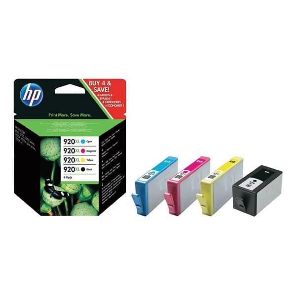 HP Pack 920XL C2N92AE (C2N92AE) - Achat / Vente Consommable Imprimante sur Cybertek.fr - 0