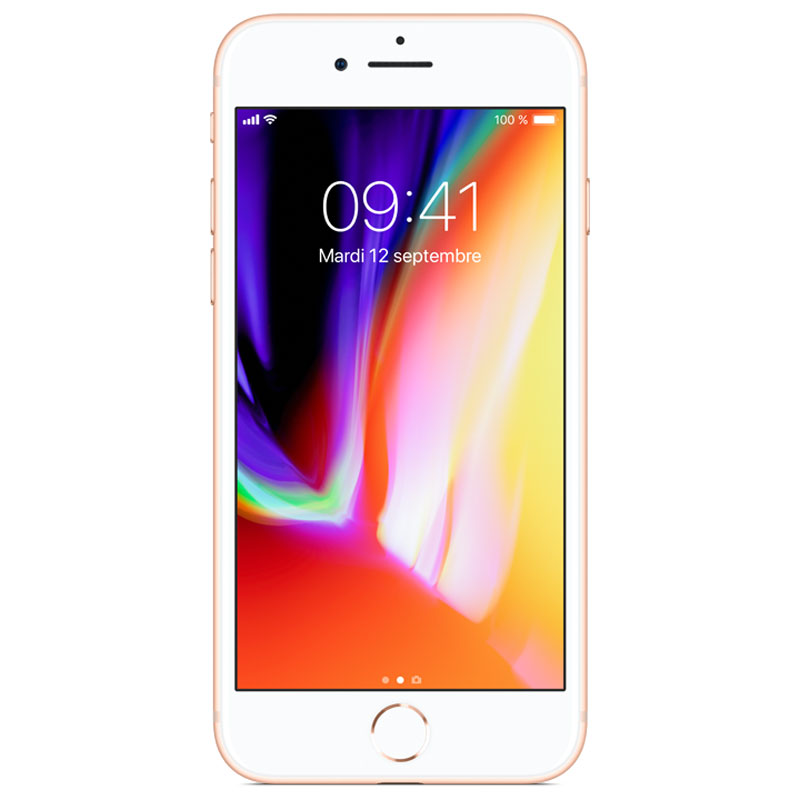 Apple iPhone 8 64Go Or - Téléphonie Apple - Cybertek.fr - 0