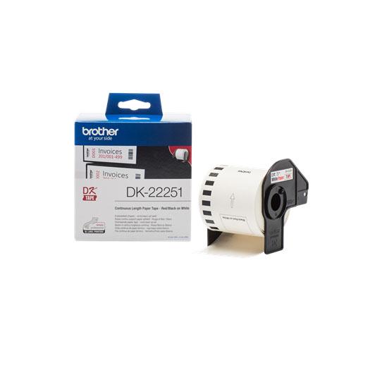 Ruban continu - DK22251 pour imprimante  Brother - 1