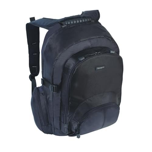 "Targus Sac a dos CN600 Classic 15.6"" Backpack Nylon Black (CN600) - Achat / Vente Sac et Sacoche sur Cybertek.fr - 0"
