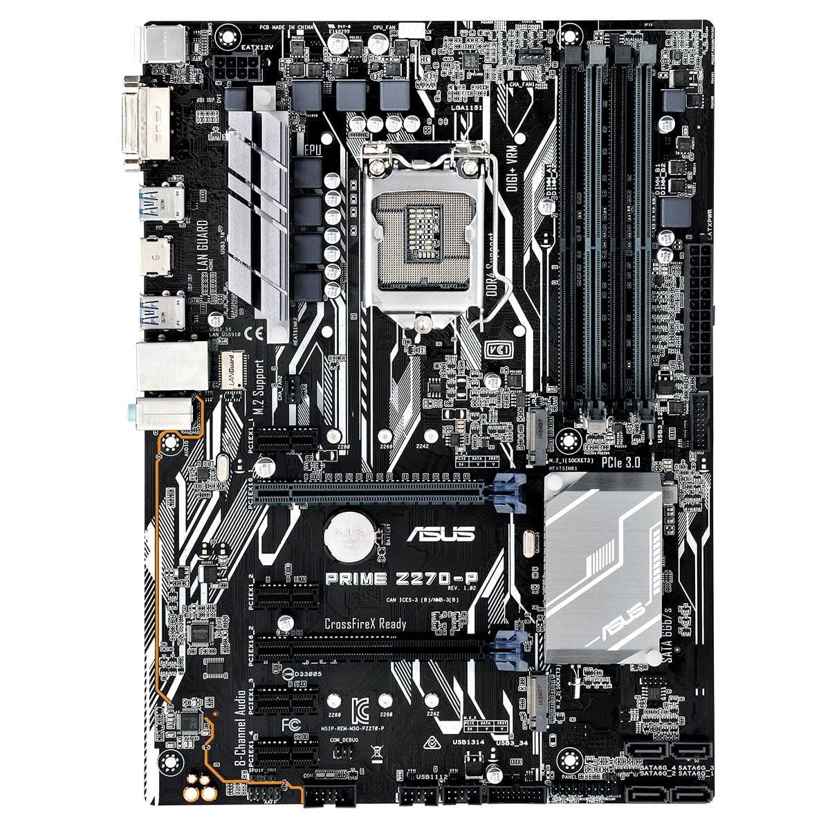Asus PRIME Z270-P ATX DDR4 - Carte mère Asus - Cybertek.fr - 3