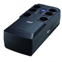 image produit Fortron (FSP) Nano Fit 800 - 800VA 6 prises + 2 USB + 2 RJ45 Cybertek