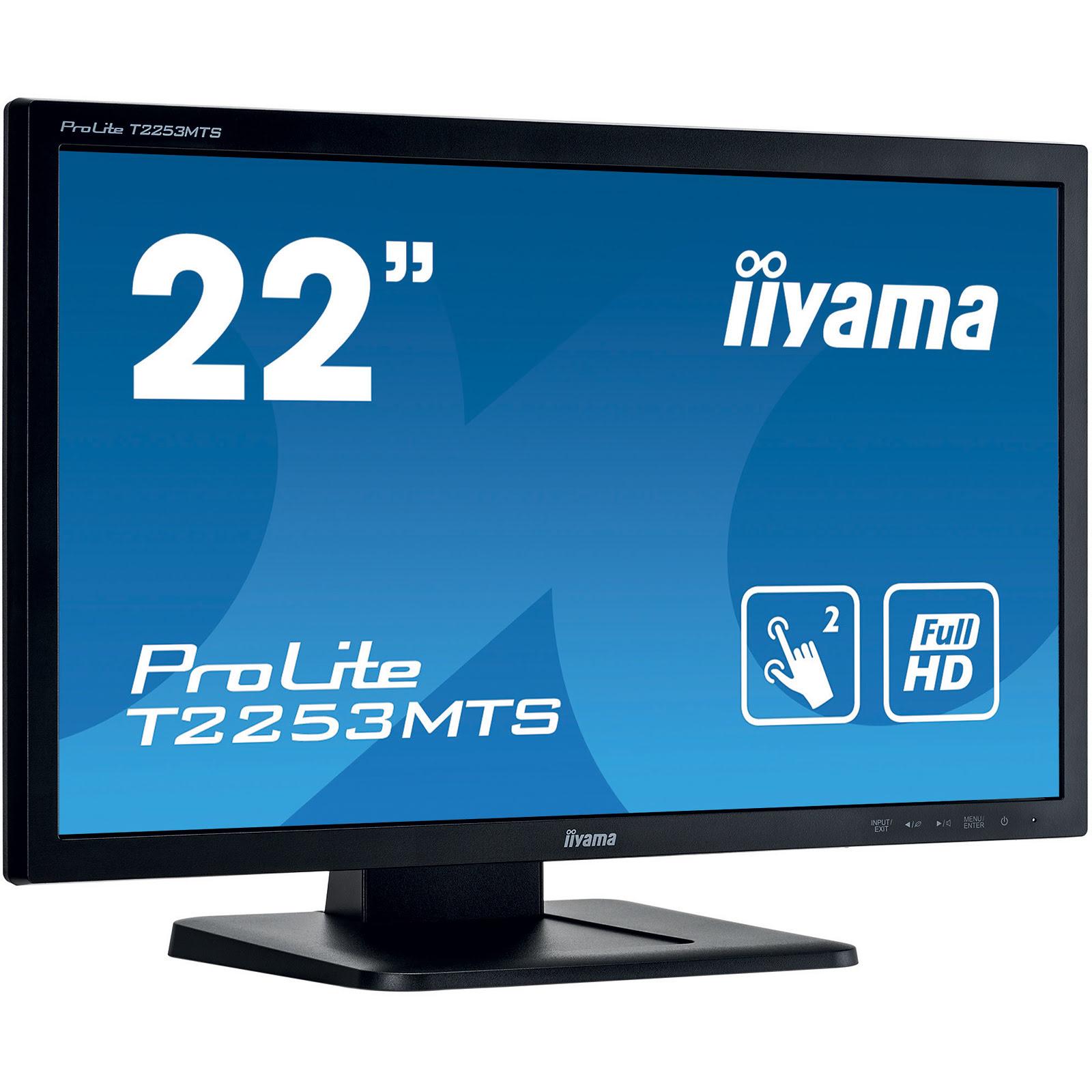 """Iiyama 22""""  T2253MTS-B1 - Ecran PC Iiyama - Cybertek.fr - 4"""