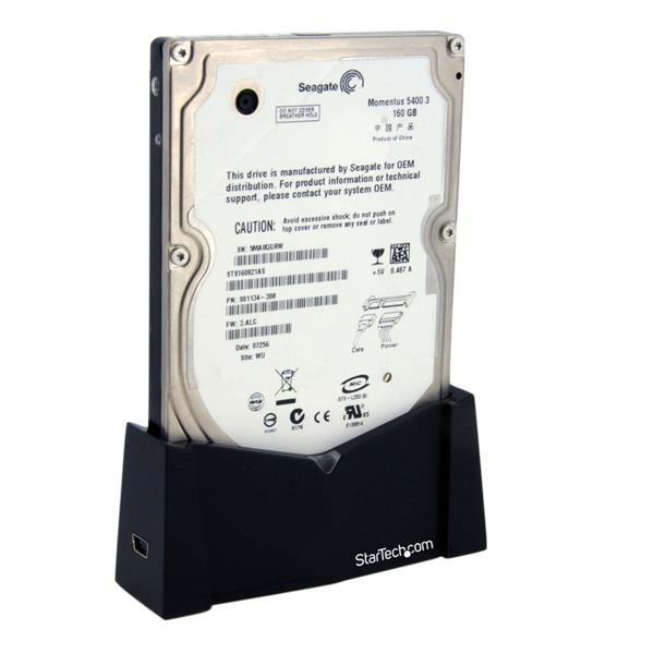 "StarTech Station d'accueil USB2 / HDD 2.5"" SATA - Boîtier externe - 3"