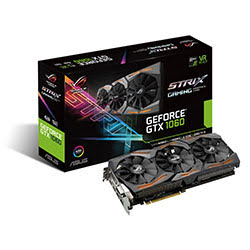 Carte graphique Asus STRIX-GTX1060-6G-GAMING - GTX1060/6Go/HDMI/DP