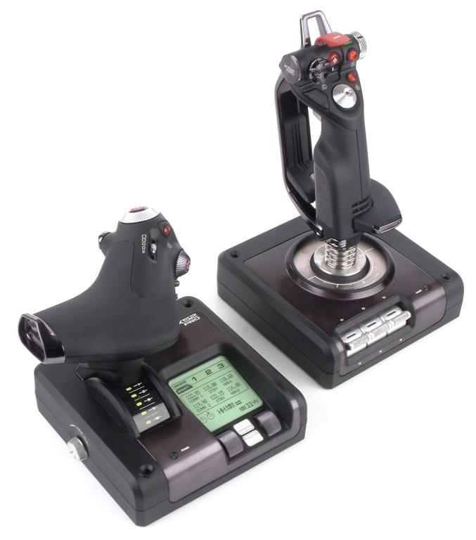MAD CATZ Joystick/Throttle X52 PRO Flight Control - Joystick - 0