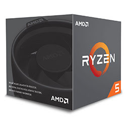Processeur AMD Ryzen 5 1600 - 3.6GHz/19Mo/AM4/Spire/BOX