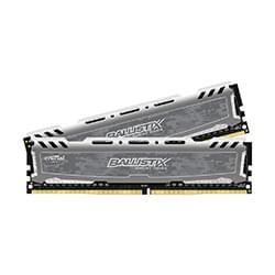 Ballistix Mémoire PC BLS2C4G4D240FSB (2x4Go DDR4 2400 PC19200) Cybertek