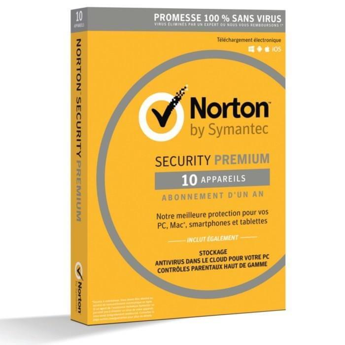 Symantec Norton Security Premium (21355468) - Achat / Vente Logiciel sécurité sur Cybertek.fr - 0