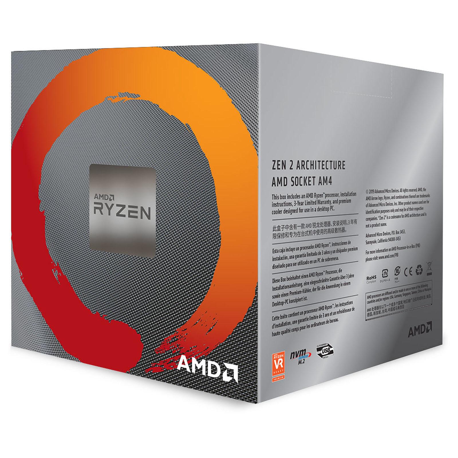 AMD Ryzen 7 3800X - 4.5GHz - Processeur AMD - Cybertek.fr - 1