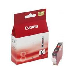 Consommable imprimante Canon Cartouche CLI 8R Rouge - 0626B001