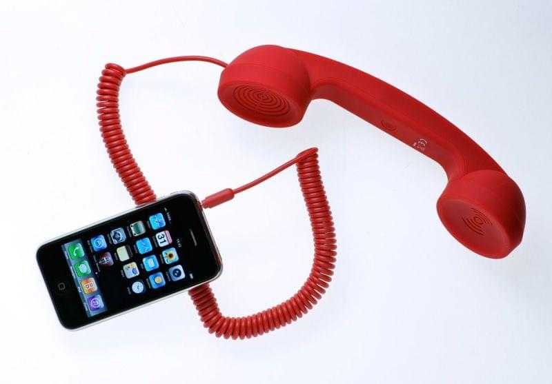 Native Union Combiné Retro Moshi Moshi pour smartphone (MM01H-RED_ST-1) - Achat / Vente Accessoire téléphonie sur Cybertek.fr - 0