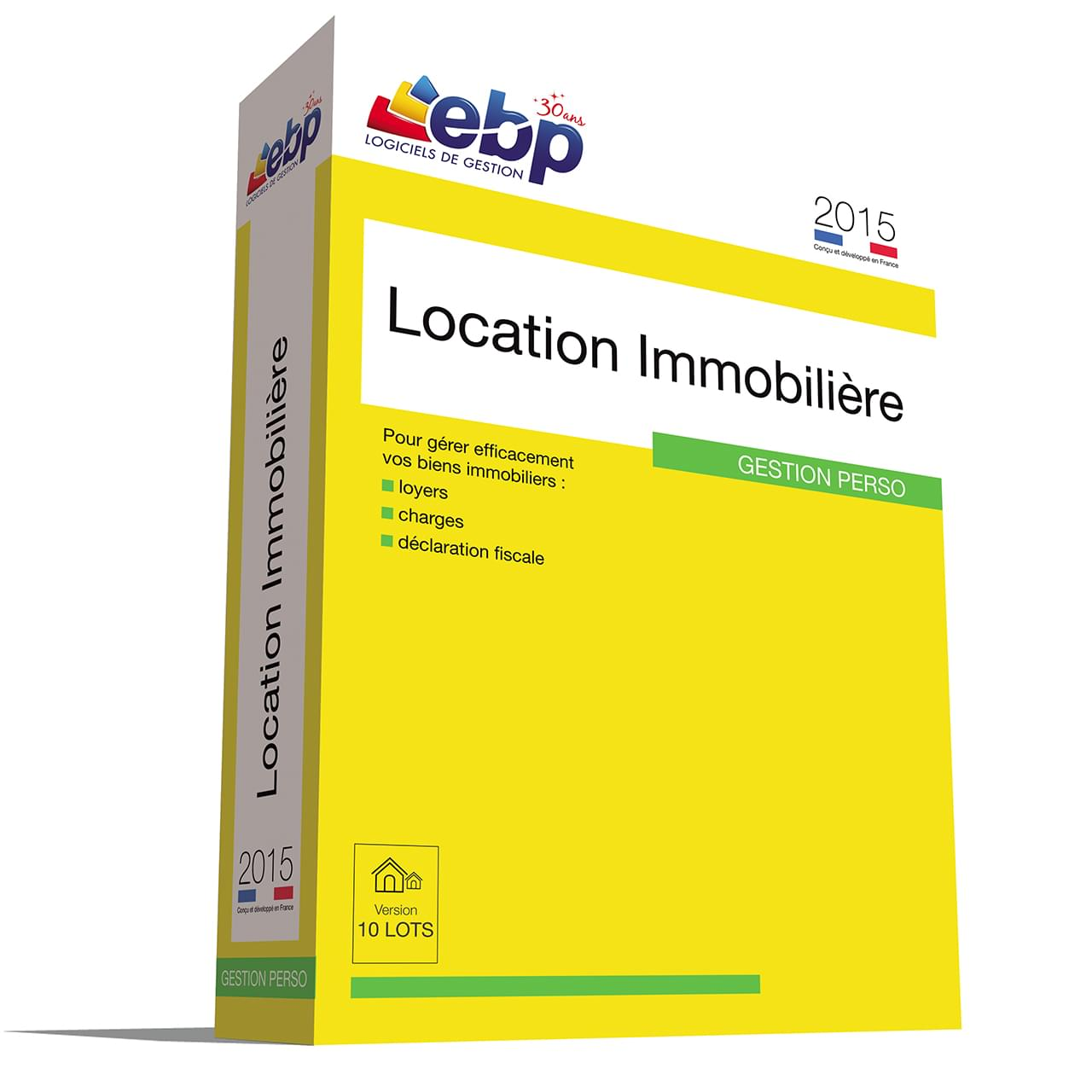 EBP Location Immobilière 2015 version 50 Lots - Logiciel application - 0