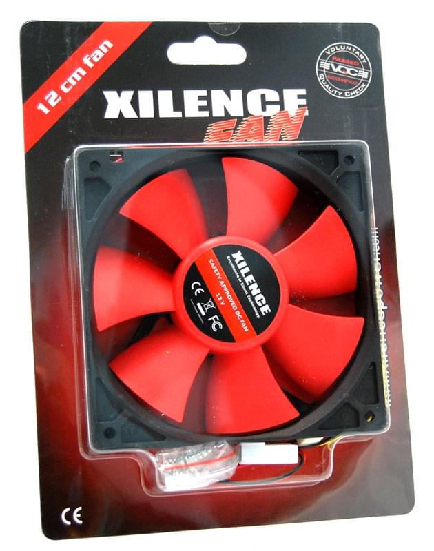 Ventirad Xilence Case Fan black/red COO-XPF120.R.PWM 21dB 12CM - 0