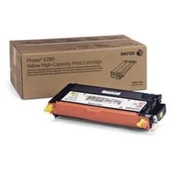 Toner Jaune 5900p - 106R01394 pour imprimante Laser Xerox - 0