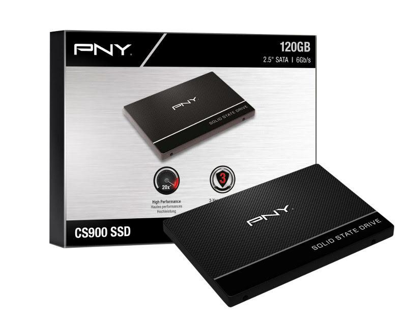 PNY 120Go SSD7CS900-120-PB SATA III 120-128Go - Disque SSD PNY - 1