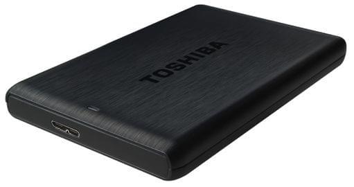 """Toshiba 1To 2""""1/2 USB3 Stor.E PLUS Noir (HDTP110EK3AA) - Achat / Vente Disque dur Externe sur Cybertek.fr - 0"""