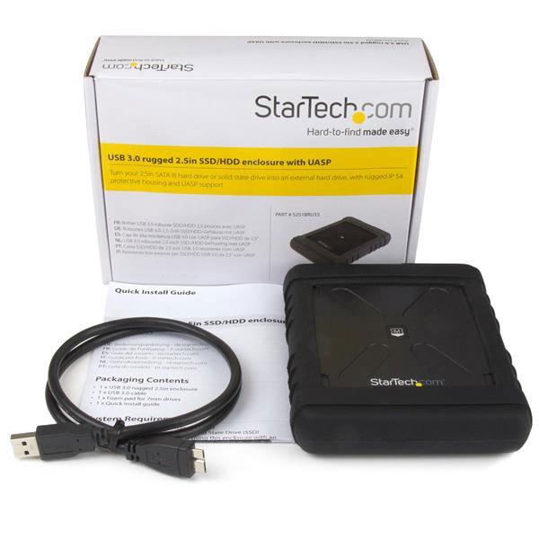 "StarTech USB3.0 pour DD 2.5"" - Boîtier externe - Cybertek.fr - 1"
