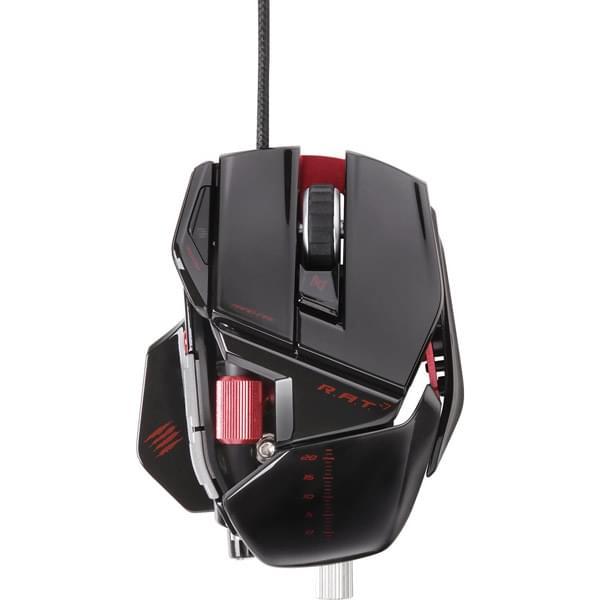MAD CATZ R.A.T 7 Gloss Noir (MCB4370800C2/04/1) - Achat / Vente Souris PC sur Cybertek.fr - 0
