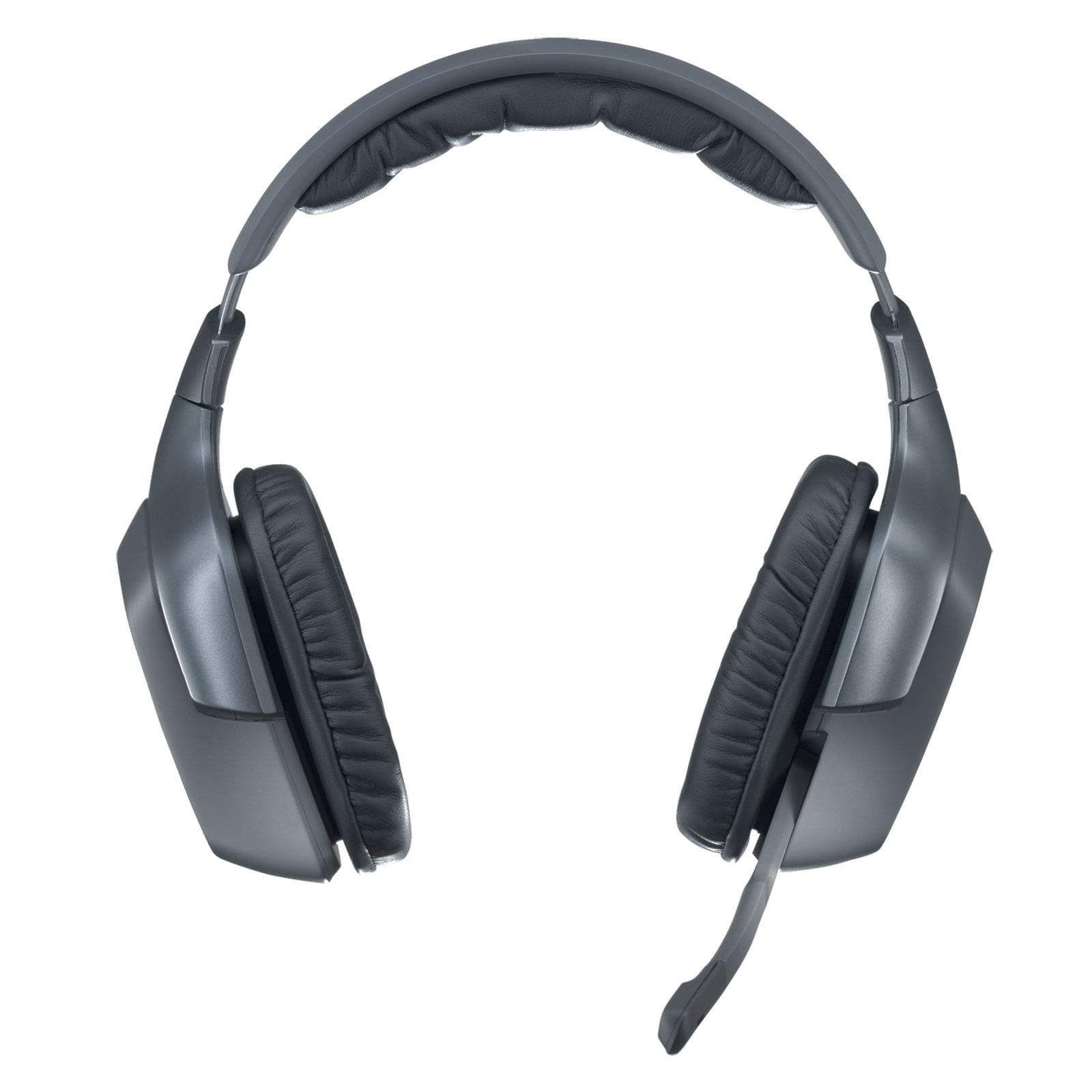 Logitech Wireless Headset F540 (981-000280) - Achat / Vente Micro-casque sur Cybertek.fr - 0