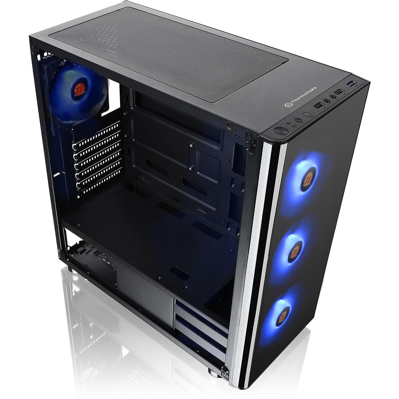 Thermaltake V200 TG RGB Edition Noir - Boîtier PC Thermaltake - 3