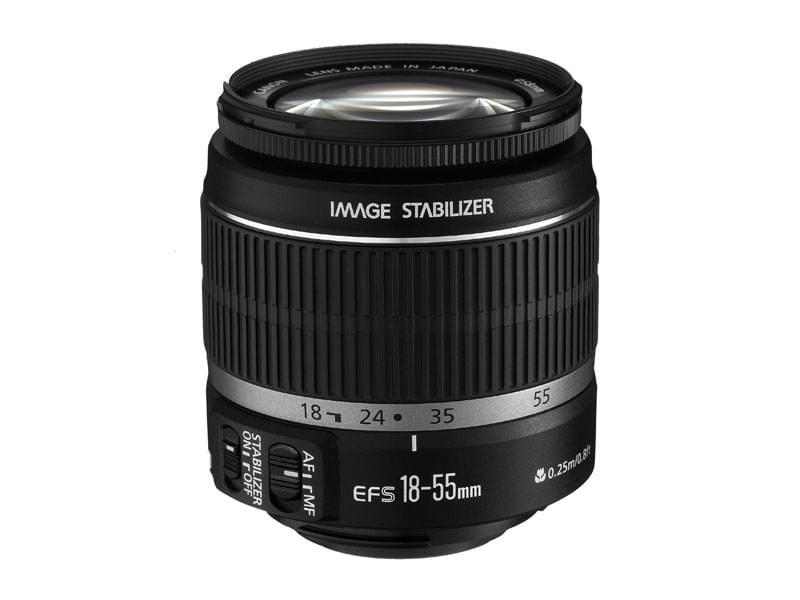 Canon Objectif EF-S 18-55mm/F3.5-5.6 IS (2042B005) - Achat / Vente Access. Audio-Photo-Vidéo sur Cybertek.fr - 0