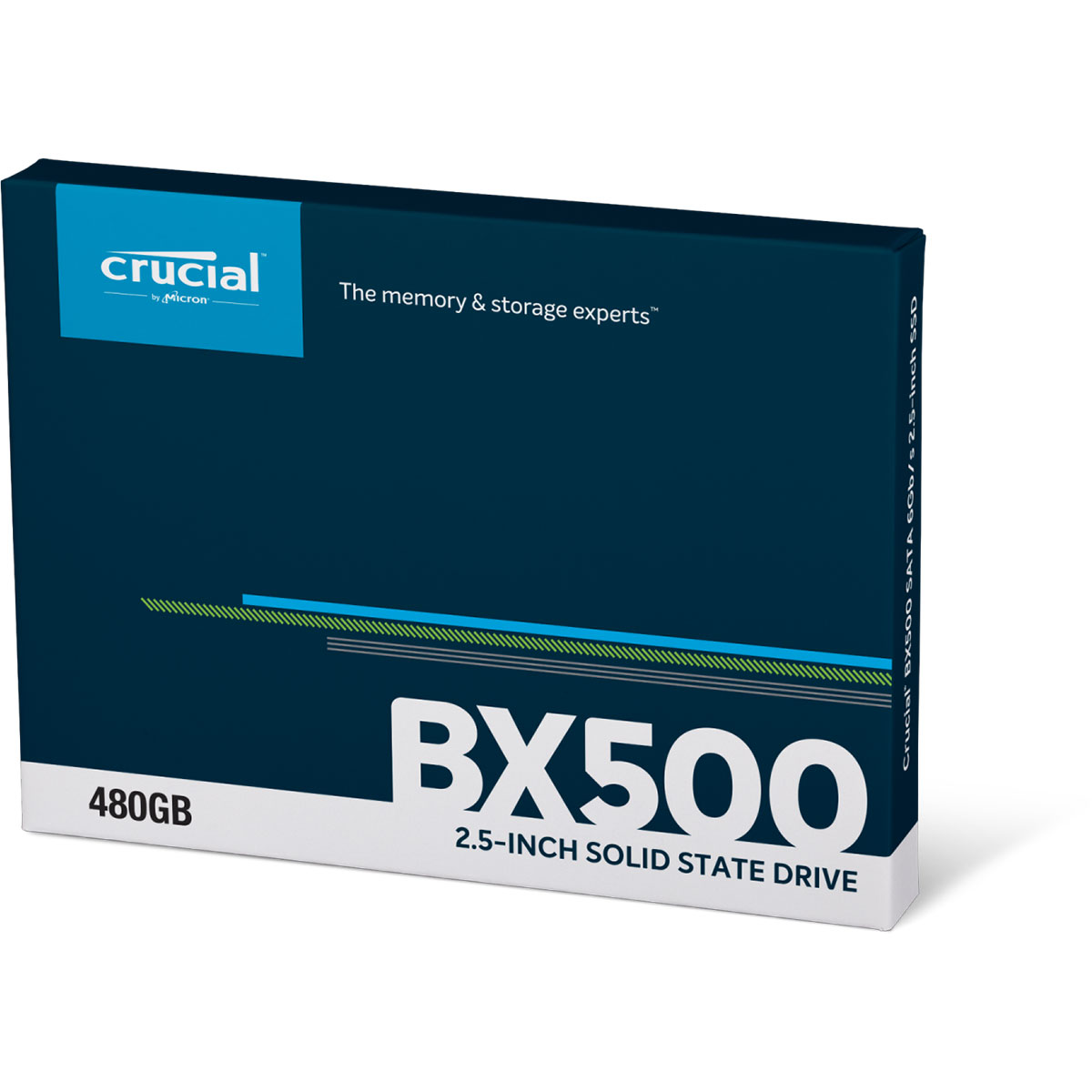 Crucial BX500 960Go-1To SATA III - Disque SSD Crucial - 1