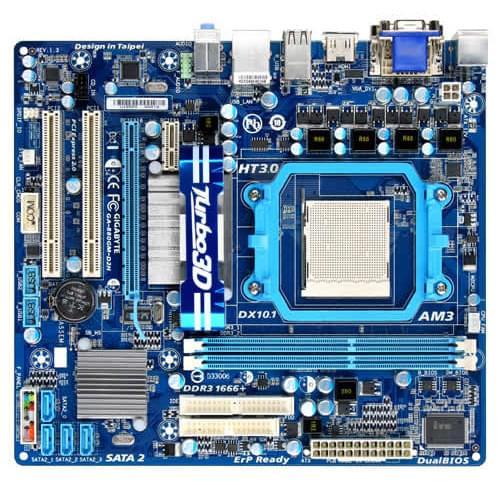 Gigabyte 880GM-D2H (880GM-D2H) - Achat / Vente Carte Mère sur Cybertek.fr - 0