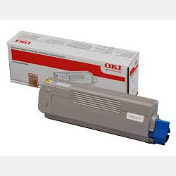 Consommable imprimante Oki Toner Jaune 6000 pages - 43487709