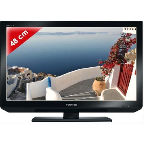 Toshiba 19EL833 LED (19EL833G) - Achat / Vente TV sur Cybertek.fr - 0