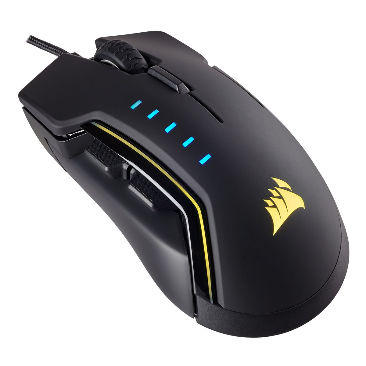 Corsair Glaive RGB Gaming Mouse Black - Souris PC Corsair - 0