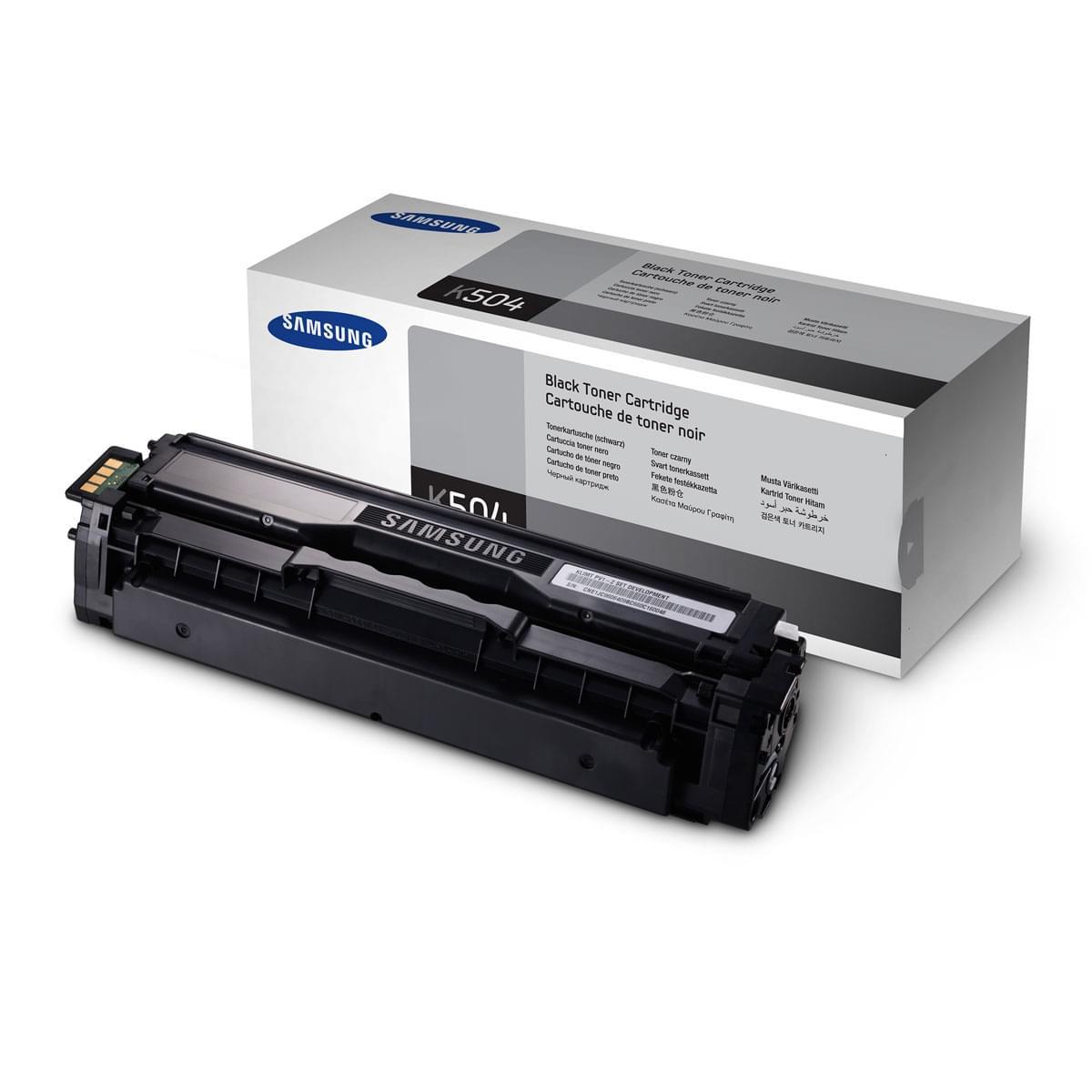 Toner Noir CLT-K504S pour imprimante Laser Samsung - 0