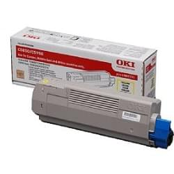 Toner Cyan 6000p - 43865723 pour imprimante Laser Oki - 0