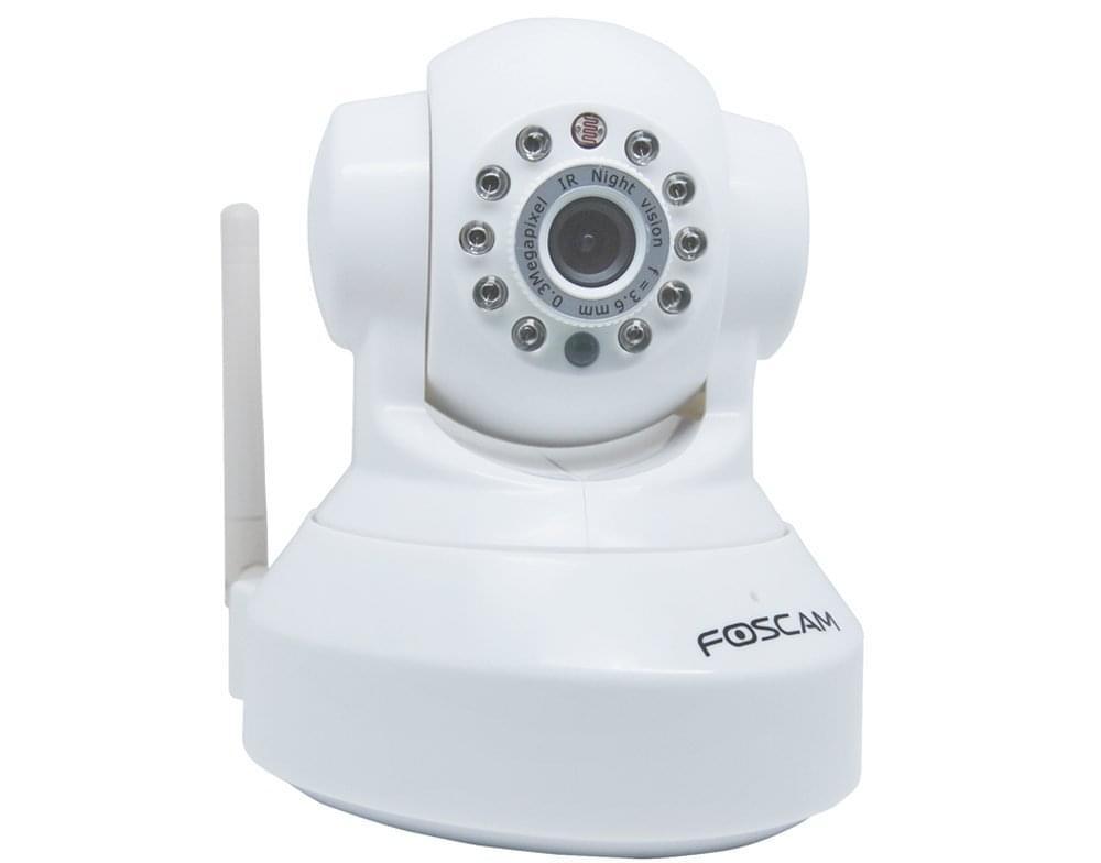 Foscam FI8918WW Cam. IP WiFi motorisée Jour/Nuit Blanche (FI8918WW) - Achat / Vente Caméra / Webcam sur Cybertek.fr - 0
