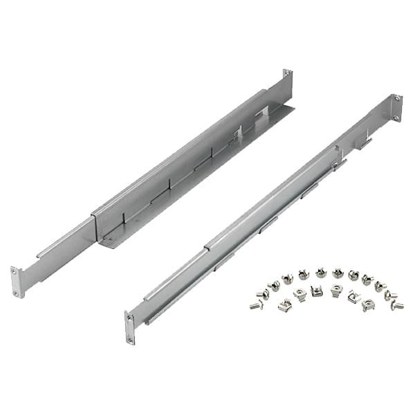 Kit rails pour rack pour X4/E3LCD/E6LCD - 61429 - Onduleur Infosec - 0